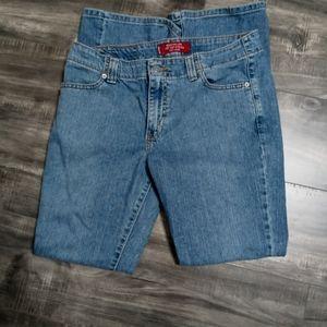 Levi's low rise boot cut jeans
